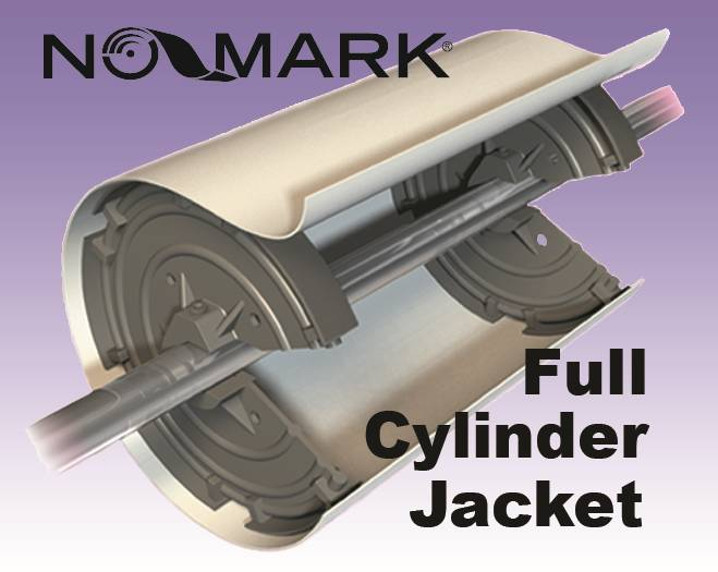 'NO-MARK' ANTI-TRACK JACKET Duplicator Size Press, 2 ea.