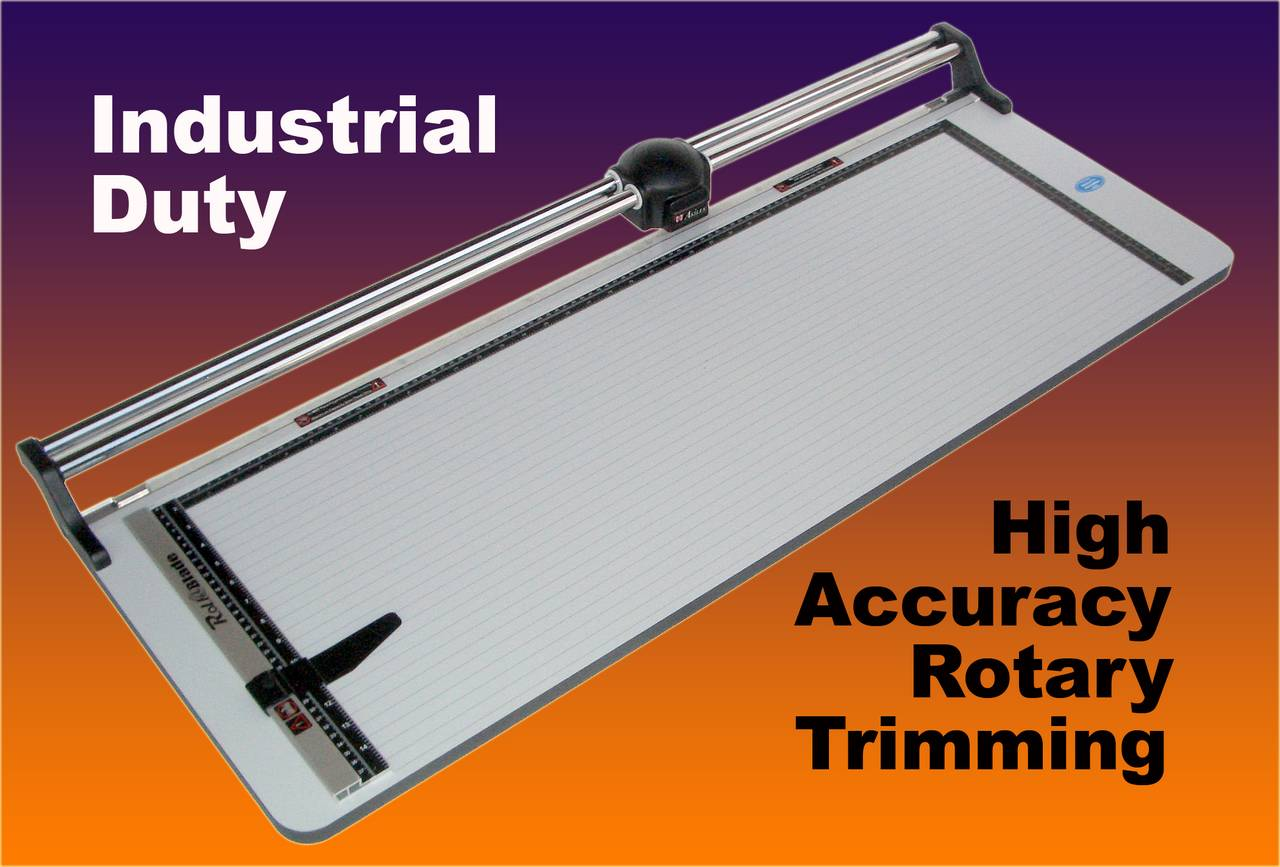 "ROLL-A-BLADE 36"" TRIMMER Rotary Type, 15"" x 36"" Table"