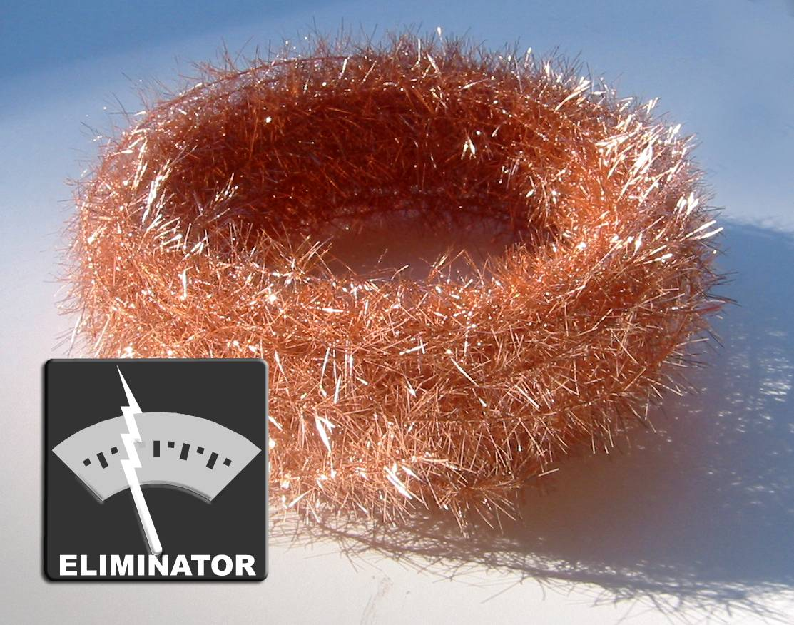 STATIC TINSEL Two 12-yard coils