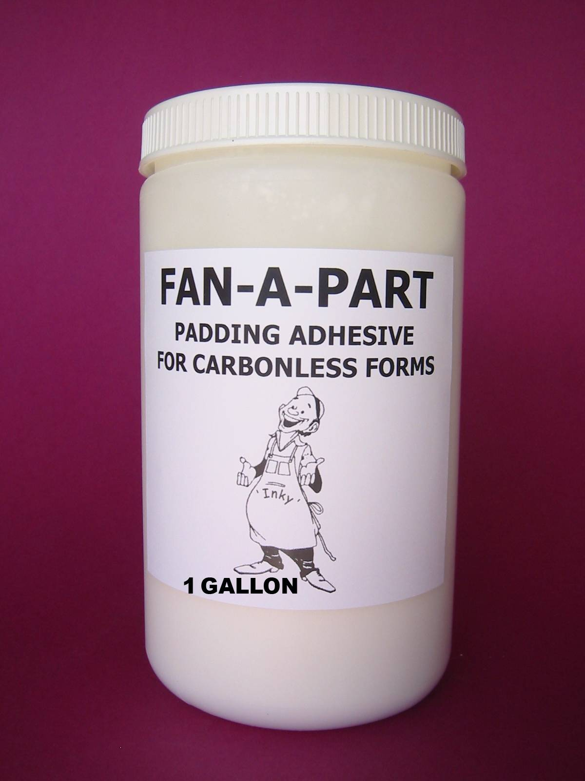 FAN-A-PART ADHESIVE (GALLON) 3M, NCR, MEAD Papers