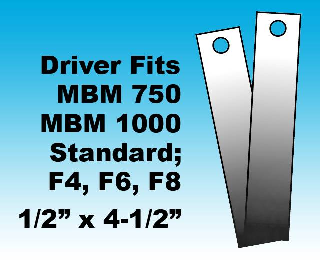 BOOKLET MAKER STAPLE DRIVER For Use On: MBM 750, 1000, and Standard F4, F6, F8